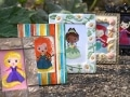 Rapunzel-Merida-Tiana-Ariel-Mulan