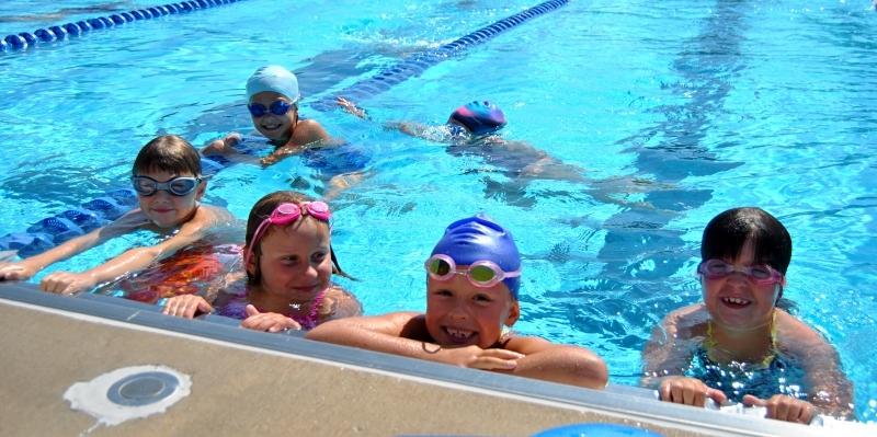 Swim Team Hits The Pool