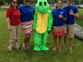 Mr. Turtle and our swim instructors are ready to greet you!