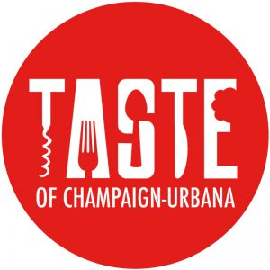 Taste of Champaign-Urbana logo