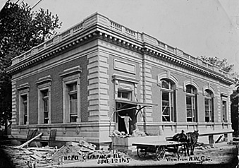 Springer when it was originally built as a Post Office in 1905