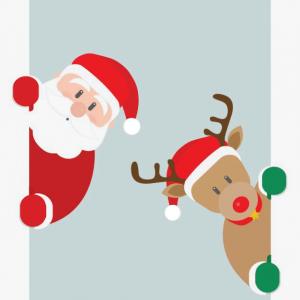 santa_reindeer