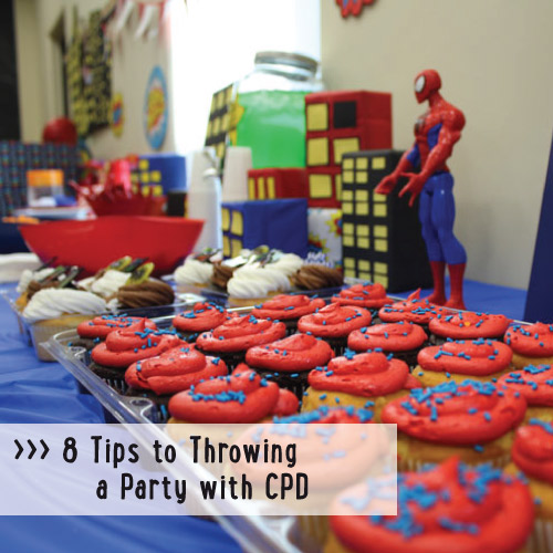 8 Tips To Throwing A Party With Cpd