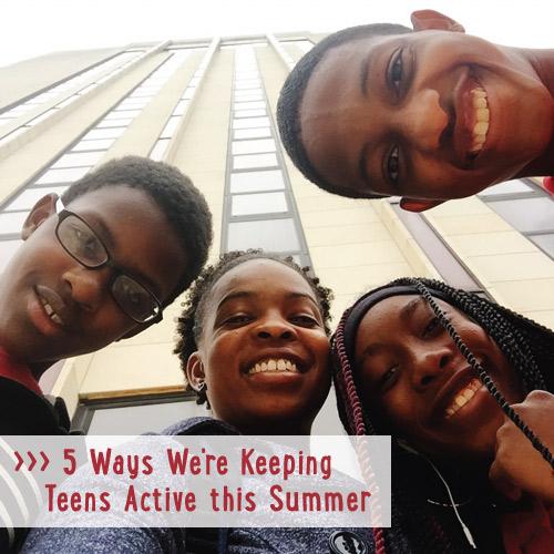 Keeping teens active