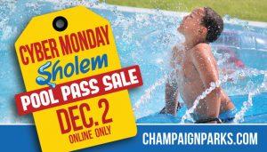 Cyber Monday Sholem Pool Pass Sale Dec 2
