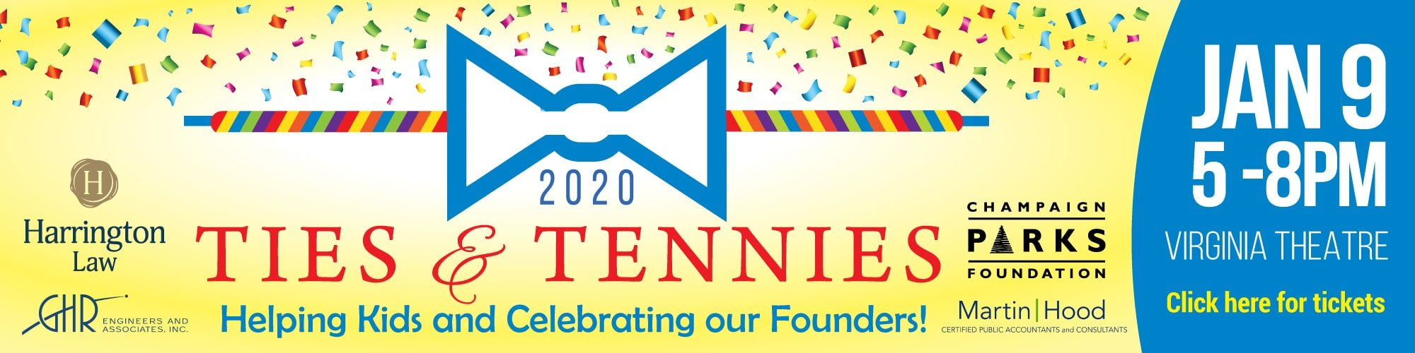 Ties & Tennies: Helping kids and celebrating our founders