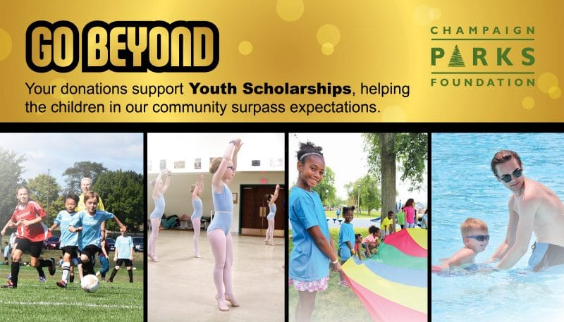 GO BEYOND: Your donations support youth scholarships, helping the children in our community surpass expectations.