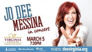 Jo Dee Messina in concert March 5 at 7:30p