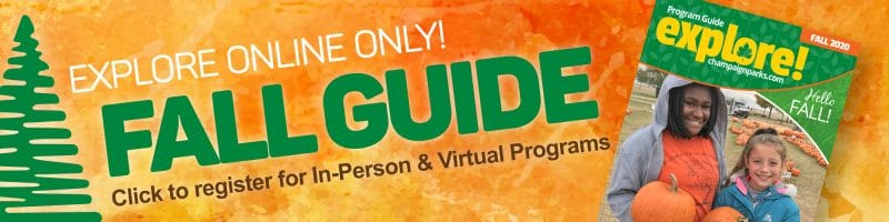 Explore online only! Fall Guide. Click here