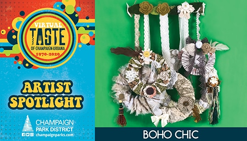 Taste of C-U Artist Sportlight: Boho Chic