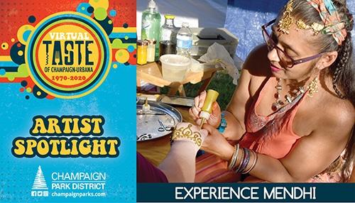 Taste of C-U Artist Spotlight: Experience Mendhi