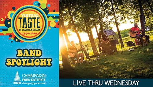 Taste of C-U Band Spotlight: Live Thru Wednesday