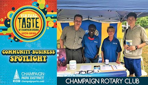 Taste of C-U Community Business Spotlight: Champaign Rotary Club