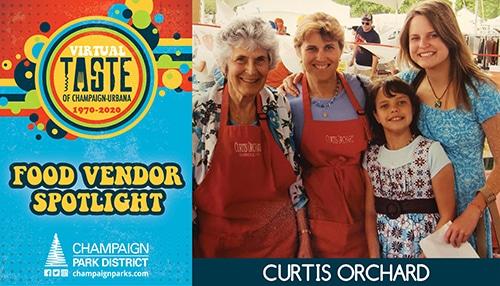 Taste of C-U Food Vendor Spotlight: Curtis Orchard
