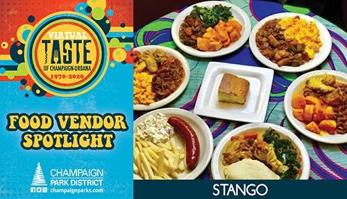 Taste of C-U Food Vendor Spotlight: Stango