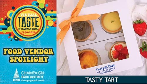 Taste of C-U Food Vendor Spotlight: Tasty Tart