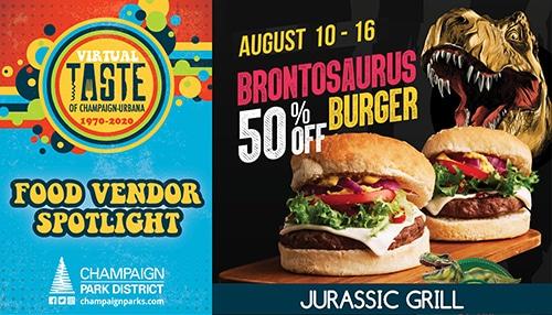 Taste of C-U Food Vendor Spotlight: Jurassic Grill