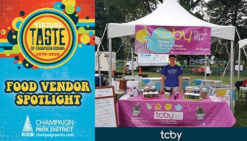 Taste of C-U Food Vendor Spotlight: TCBY