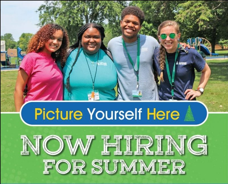 Picture Yourself Here! Now Hiring for summer!